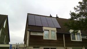 12 ZN Shine 260 WP Mono Gallium panelen + KLNE Solartec omvormer
