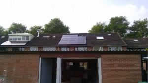 9 ZN Shine 260 WP Mono Gallium panelen + KLNE Solartec omvormer