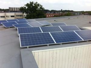 16 ZN Shine 250 WP Poly panelen + KLNE Solartec omvormer
