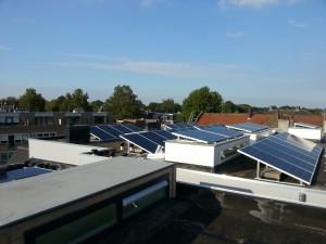 50 ZN Shine 250WP poly panelen + KLNE Solartec omvormer