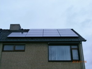 14 ZN Shine 250 WP Mono panelen + KLNE Solartec omvormer