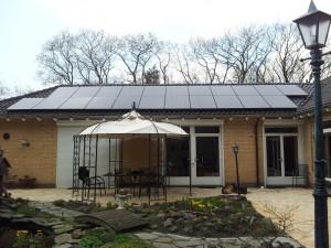 36 GH Solar 260WP Mono panelen + SMA omvormer
