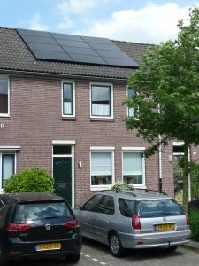 12 Simax 250 WP Mono panelen + KLNE Solartec omvormer