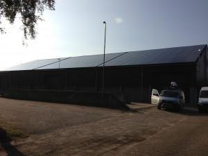 450 EGM Solar 230 WP panelen + SMA Tripower omvormer
