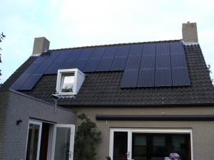 30 Risen 195 WP mono panelen + KLNE Solartec omvormer
