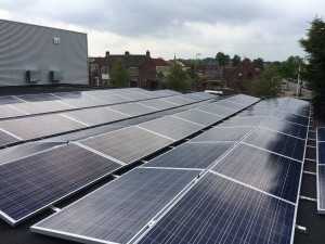 550 ZN Shine 250 WP poly panelen + KLNE Solartec omvormers
