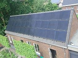 44 x Solar Frontier panelen Reusel