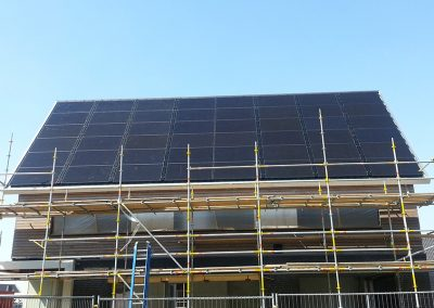 Zonnepanelen als dakbedekking, Oosterhout