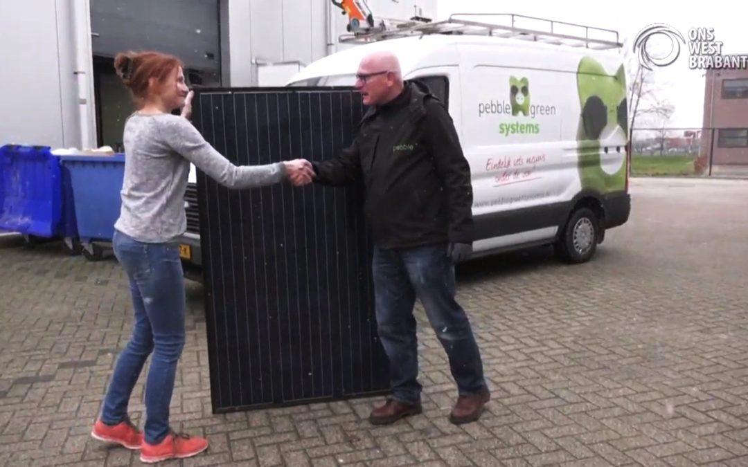 Voedselbank Etten-Leur op zonne-energie