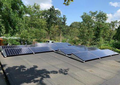 Zonnepanelen plat dak Oosterhout