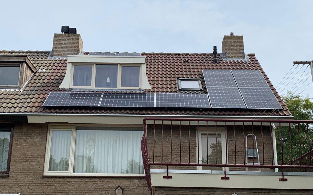 Zonnepanelen hellend dak Etten-Leur