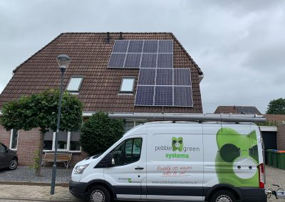 Zonnepanelen hellend dak Breda