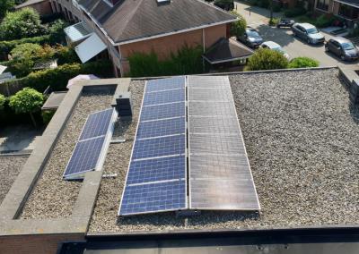Zonnepanelen plat dak Breda