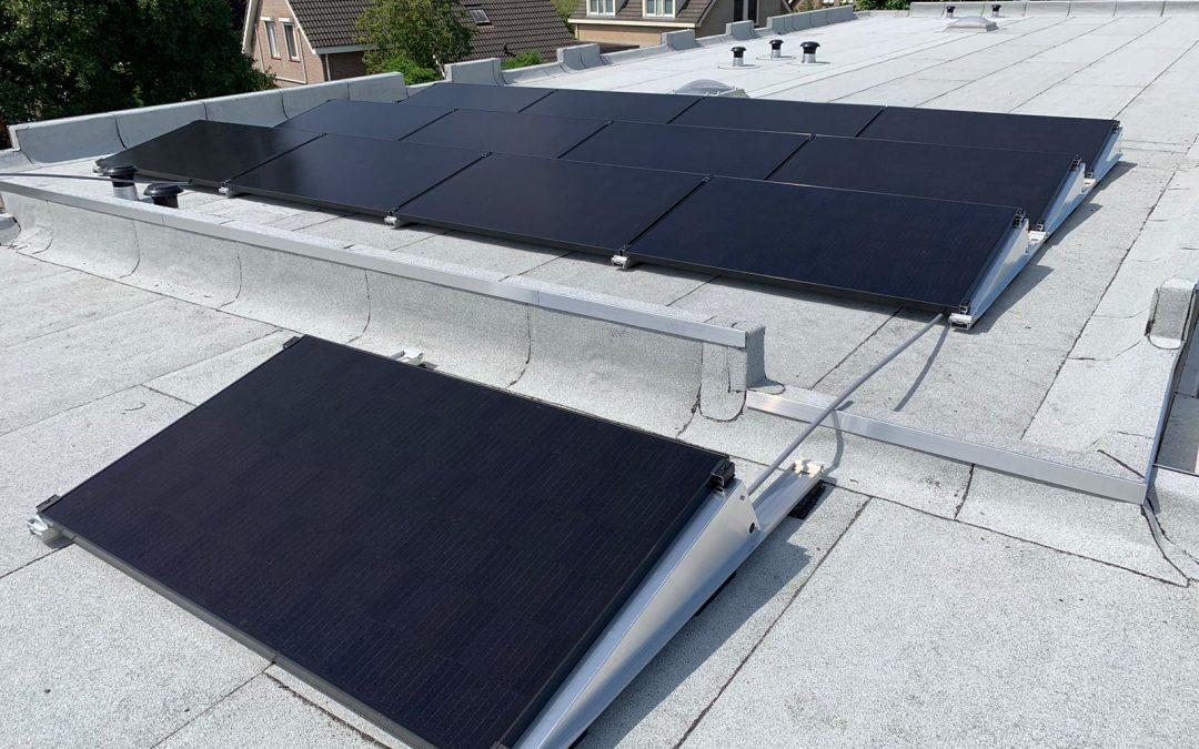 Zonnepanelen plat dak Etten-Leur