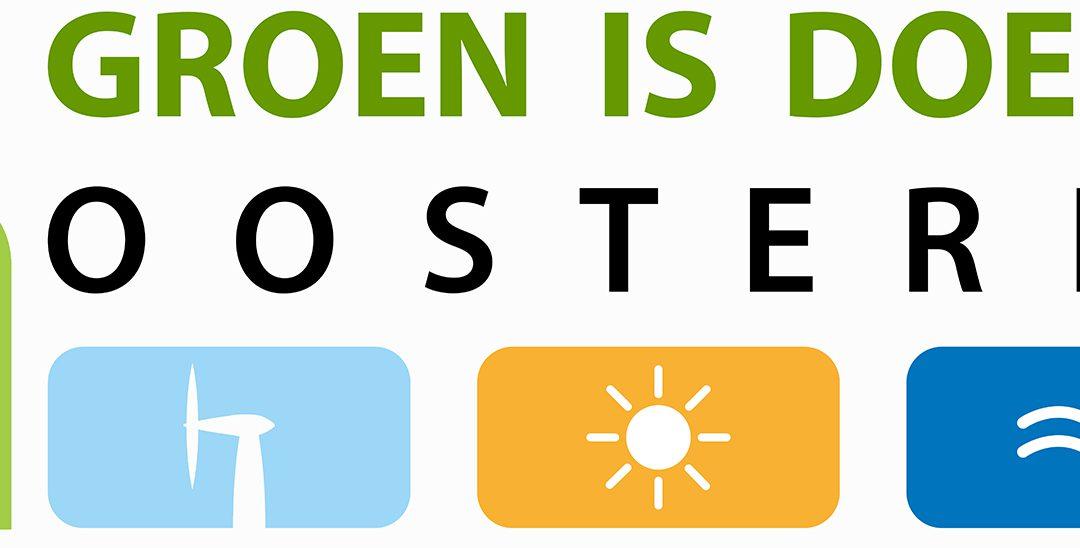 Wij staan op Groen is Doen beurs in Oosterhout