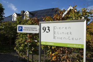 Zonnepanelen op dierenkliniek Etten-Leur