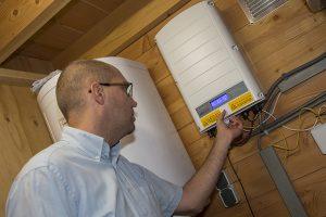 SolarEdge omvormer 3 fasen