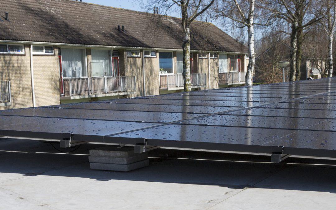 Besparing op energierekening met installatie 40 zonnepanelen