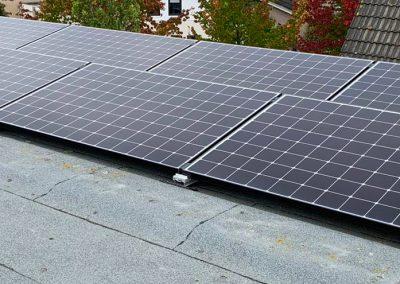 Installatie van 8 zonnepanelen in Hoeven door Pebble Green Systems
