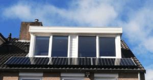 zonnepanelen gilze 3 onder dakkapel