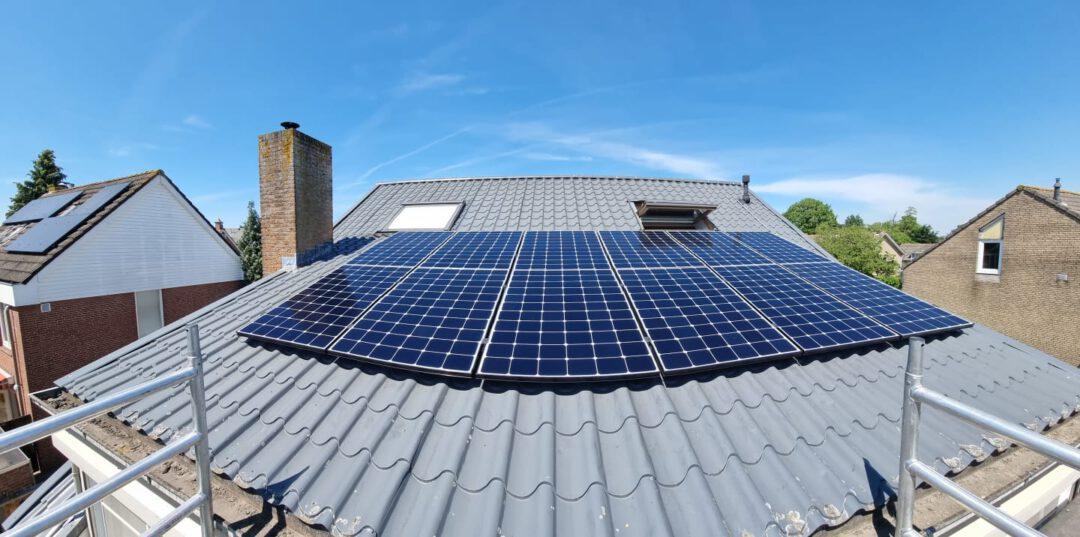 Project Oosteind zonnepanelen