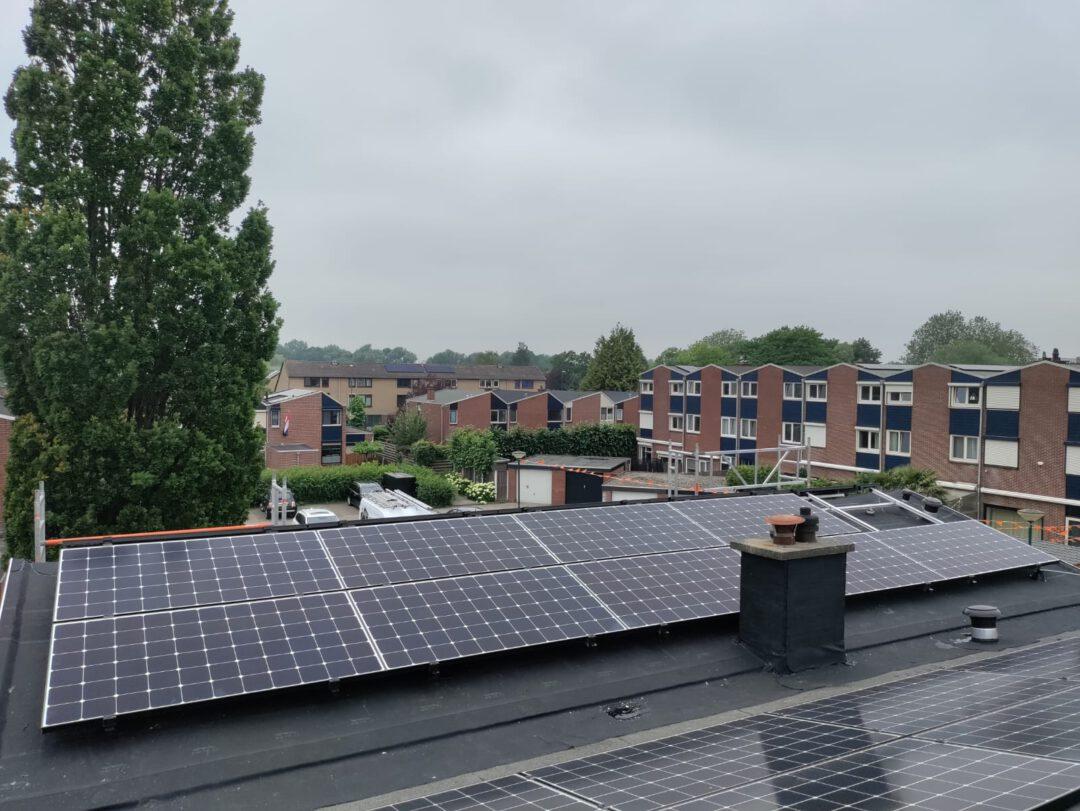 Project Zevenbergen SunPower zonnepanelen