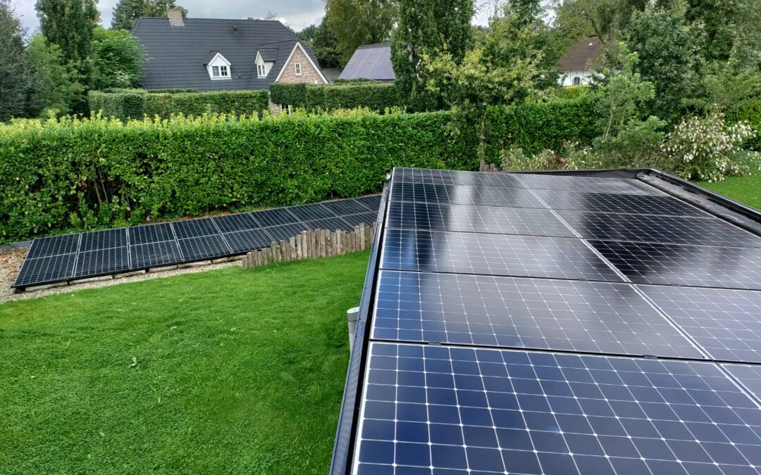 Installatie zonnepanelen  Den Hout