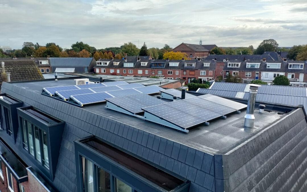 Installatie 7 SunPower zonnepanelen Breda
