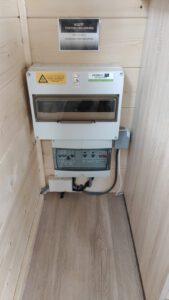 Meterkast tiny house